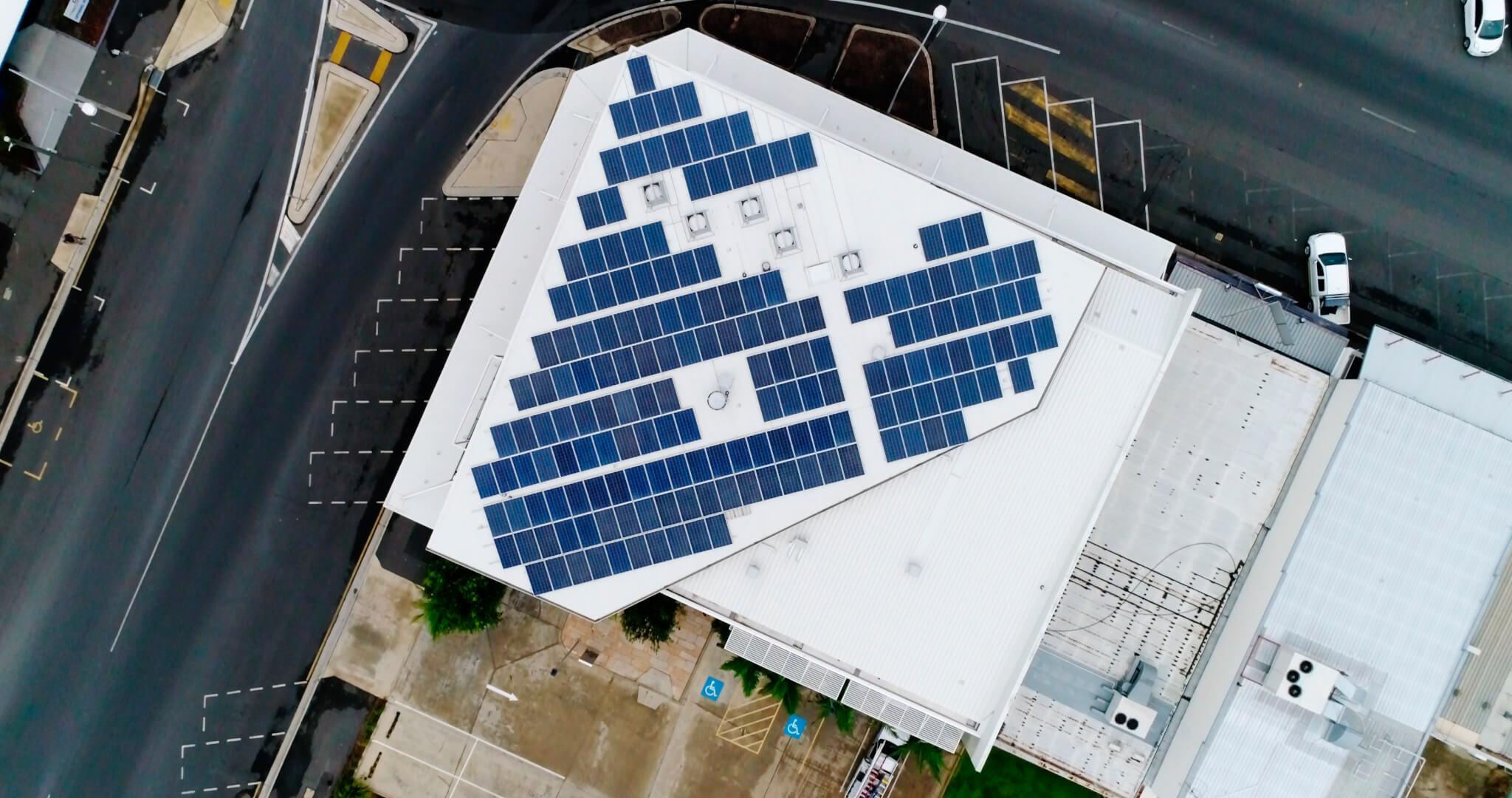 Suncorp House Solar Installation